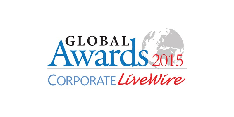 Winner in the Banking and Finance Category at the Corporate LiveWire Global Awards 2015